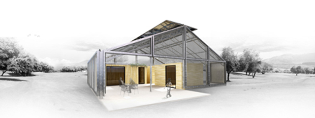 Casa invernadero low cost solar decathlon europe 2012 for Arquitectura low cost